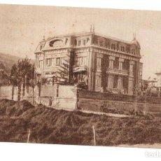 Postales: TARJETA POSTAL RESIDENCIA PEDRO VELARDE. CASTRO URDIALES. C. 1950. Lote 219996297
