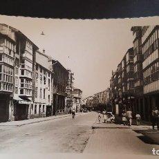 Postales: POSTAL FOTOGRAFICA SANTANDER. REINOSA. CALLE JOSE ANTONIO PRIMO DE RIVERA. ED. LAPIZ DE ORO. P488. Lote 220692777