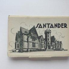 Postales: SANTANDER - LIBRITO 10 POSTALES - ED. GARCÍA GARRABELLA. Lote 220711103