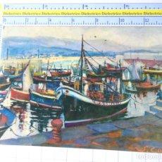 Cartes Postales: POSTAL DE CANTABRIA. AÑO 1962. LAREDO DETALLE DEL PUERTO. CAPRI. 2304. Lote 220894300