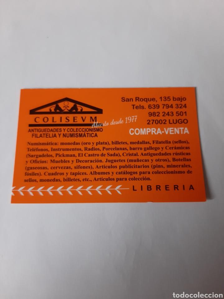 Postales: SANTANDER BIBLIOTECA MENÉNDEZ PELAYO ENTERO POSTAL EDIFIL 144 ESPAÑA FILATELIA COLISEVM 1987 - Foto 2 - 221076108