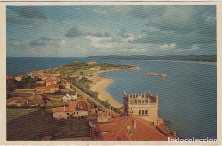 SANTANDER. PENÍNSULA DE LA MAGDALENA Y ENTRADA DEL PUERTO. ED. DOMINGUEZ. Nº 8. POSTÁL SIN CIRCULAR. (Postales - España - Cantabria Moderna (desde 1.940))