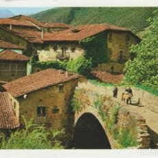 Postales: (21) POTES. PUENTE DE SAN CAYETANO. PICOS DE EUROPA. CANTABRIA. Lote 221492797