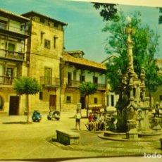 Postales: POSTAL COMILLAS -PL.JOAQUIN PIELAGO -SEAT-VESPA CM. Lote 221610636