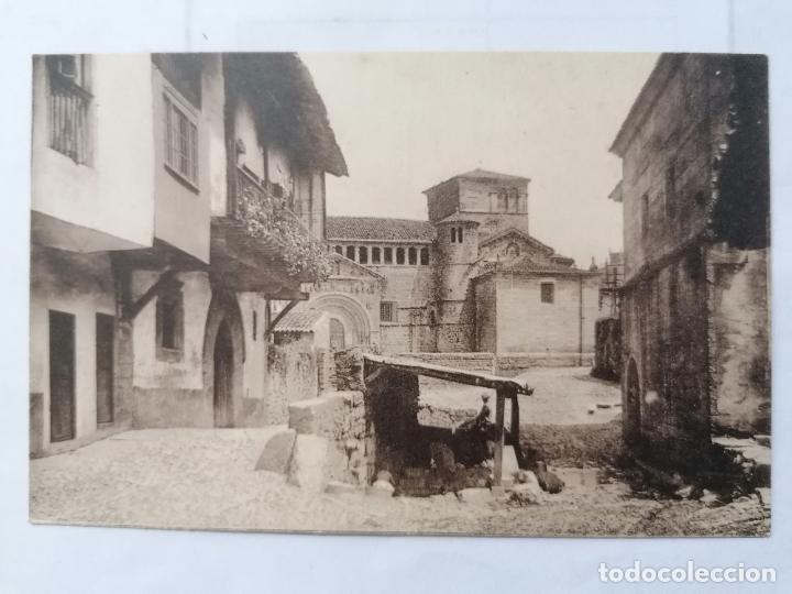 POSTAL SANTILLANA DEL MAR, CALLE DEL RIO, SIN CIRCULAR,, AÑOS 30 (Postales - España - Cantabria Antigua (hasta 1.939))