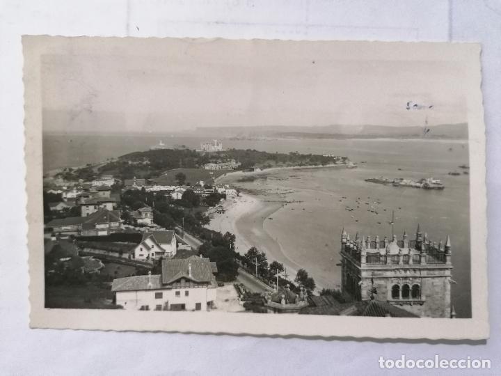 POSTAL SANTANDER, PENINSULA DE LA MAGDALENA,, AÑOS 50 (Postales - España - Cantabria Moderna (desde 1.940))