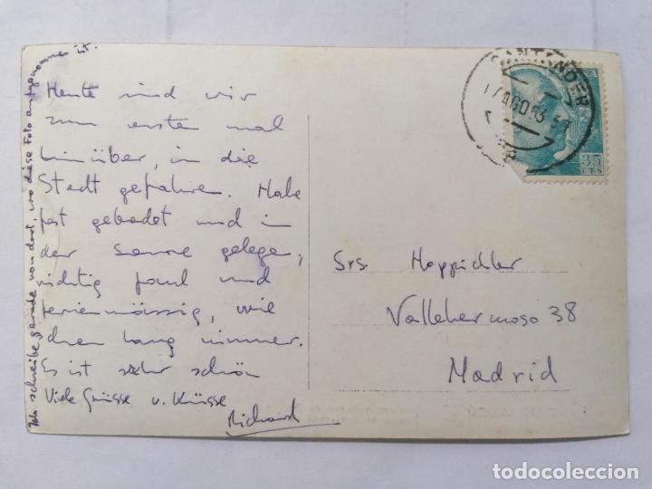 Postales: POSTAL SANTANDER, JARDINES Y PASEO DE PEREDA,, AÑOS 50, FOTOS L, ROISIN - Foto 2 - 221971047