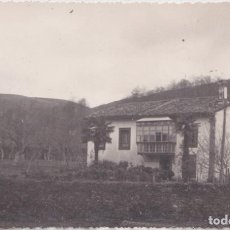 Postales: SAN VICENTE DE LA BARQUERA (CANTABRIA) - VISTA DE UNA CASONA. Lote 222093457
