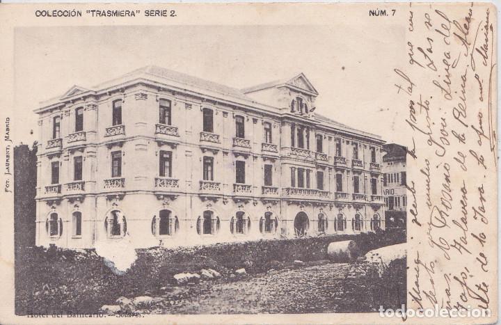 SOLARES (CANTABRIA ) - HOTEL DEL BALNEARIO (Postales - España - Cantabria Antigua (hasta 1.939))