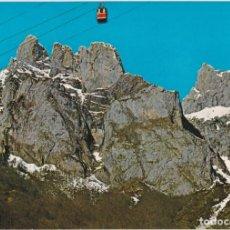 Postales: PICOS DE EUROPA,TELEFÉRICO DE FUENTE DÉ - FOTO ALSAR Nº60 - EDITADA EN 1968 - S/C. Lote 222136863