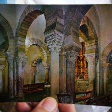 Postales: POSTAL LEBEÑA SANTANDER SANTA MARÍA DE LEBEÑA MONUMENTO NACIONAL INTERIOR DE ESTILO VISIGODO ROMANO. Lote 222586570