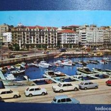 Postales: SANTANDER, CANTABRIA, PUERTO CHICO, AÑOS 60. Lote 224361322