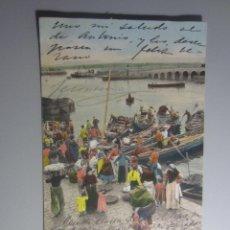 Cartoline: POSTAL SANTANDER PURGER REVERSO SIN DIVIDIR. Lote 225820280
