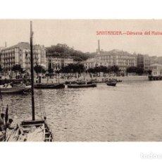 Postales: SANTANDER.(CANTABRIA).- DÁRSENA DEL MALNECHO.. Lote 225838825