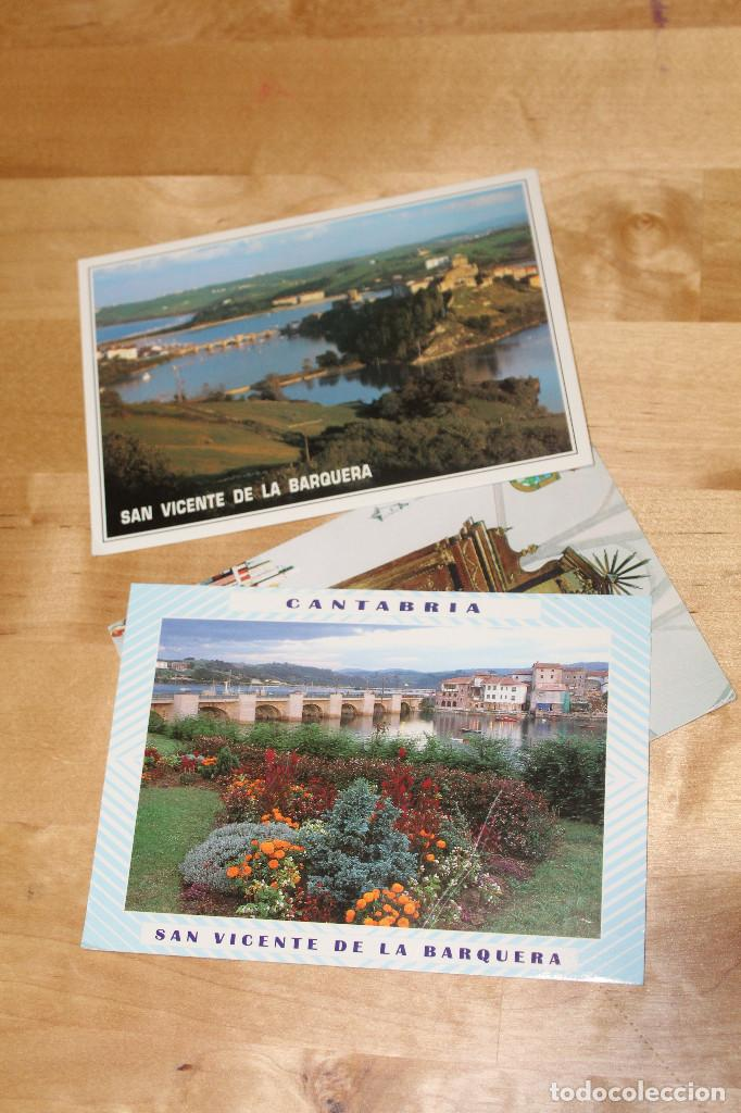 4 POSTALES DE CANTABRIA (Postales - España - Cantabria Moderna (desde 1.940))