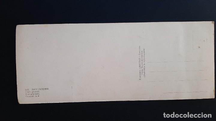 Postales: LOTE 281120.-4 POSTAL SANTANDER VISTA GENERAL EDICIONES ARRIBAS (SUPERPANORAMICA) - Foto 2 - 227594465