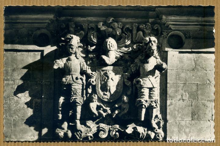 POSTAL SANTILLANA DEL MAR - ESCUDO DE LOS HOMBRONES (Postales - España - Cantabria Moderna (desde 1.940))