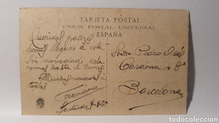 Postales: SANTANDER/ AVENIDA DE ALFONSO XIII/ CIRCULADA/ (REF.D.178) - Foto 2 - 227722075