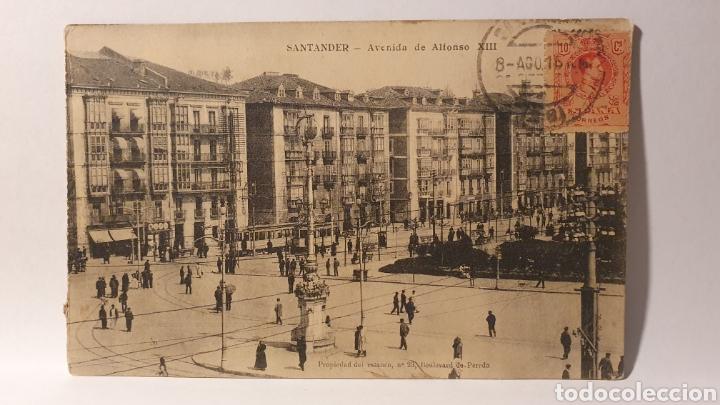 SANTANDER/ AVENIDA DE ALFONSO XIII/ CIRCULADA/ (REF.D.178) (Postales - España - Cantabria Moderna (desde 1.940))