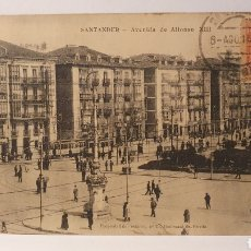 Cartoline: SANTANDER/ AVENIDA DE ALFONSO XIII/ CIRCULADA/ (REF.D.178). Lote 227722075