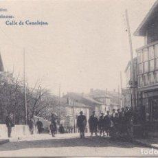 Postales: REINOSA (CANTABRIA) - CALLE DE CANALEJAS - FOTOTIPIA HAUSER Y MENET - MADRID. Lote 228996180