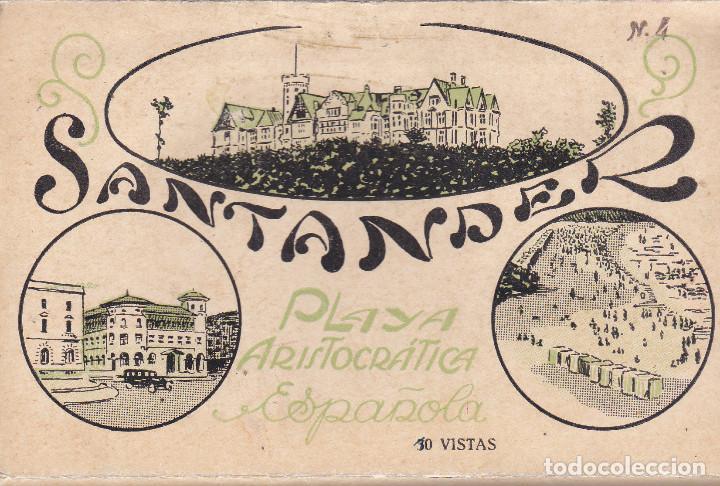 SANTANDER (CANTABRIA) - 10 VISTAS DE LA CIUDAD (Postales - España - Cantabria Moderna (desde 1.940))
