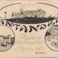 Postales: SANTANDER (CANTABRIA) - 10 VISTASDE LA CIUDAD. Lote 231262560