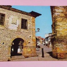 Postales: POSTAL-COMILLAS-SANTANDER-ESPAÑA-1968-AYUNTAMIENTO Y PLAZA DEL GENERALÍSIMO-S/C-S/E-NOS-VER FOTOS. Lote 232697475
