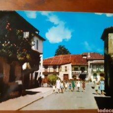 Postales: ANTIGUA POSTAL DE LIERGANES AÑOS 60. Lote 235046625