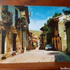 Postales: ANTIGUA POSTAL DE SATILLANA DEL MAR. Lote 235047485