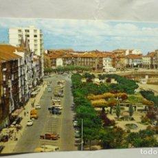 Postales: POSTAL CASTRO URDIALES-AV.G.FRANCO Y PARQUE AMESTOY. Lote 235197230