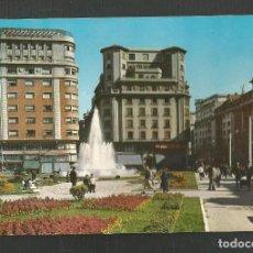 Postales: POSTAL SIN CIRCULAR - SANTANDER 2036 - PLAZA DEL GENERALISIMO - EDITA ARRIBAS. Lote 235314210
