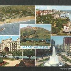 Postales: POSTAL SIN CIRCULAR - SANTANDER 2043 - EDITA ARRIBAS. Lote 235317790