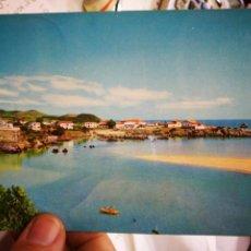 Postales: POSTAL ISLA SANTANDER PLAYA DE TUS N 14 SOLAR ESCRITA Y SELLADA. Lote 235566230