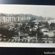 Postales: SANTANDER CANTABRIA JARDINES DE PEREDA. Lote 235682065