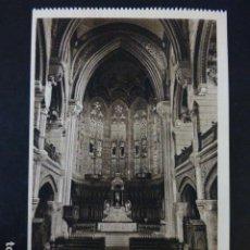 Postales: COMILLAS CANTABRIA UNIVERSIDAD PONTIFICIA IGLESIA PUBLICA INTERIOR. Lote 235713695