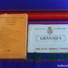 Postales: SIN CIRCULAR COLONIA PENITENCIARIA DEL DUESO 1910 COMPLETA 18 POSTAL. REGALO 7 GRANADA REGIA TURISMO. Lote 235963790