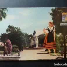 Postales: SANTANDER JARDINES DE PEREDA MUJER MONTAÑESA. Lote 236058715