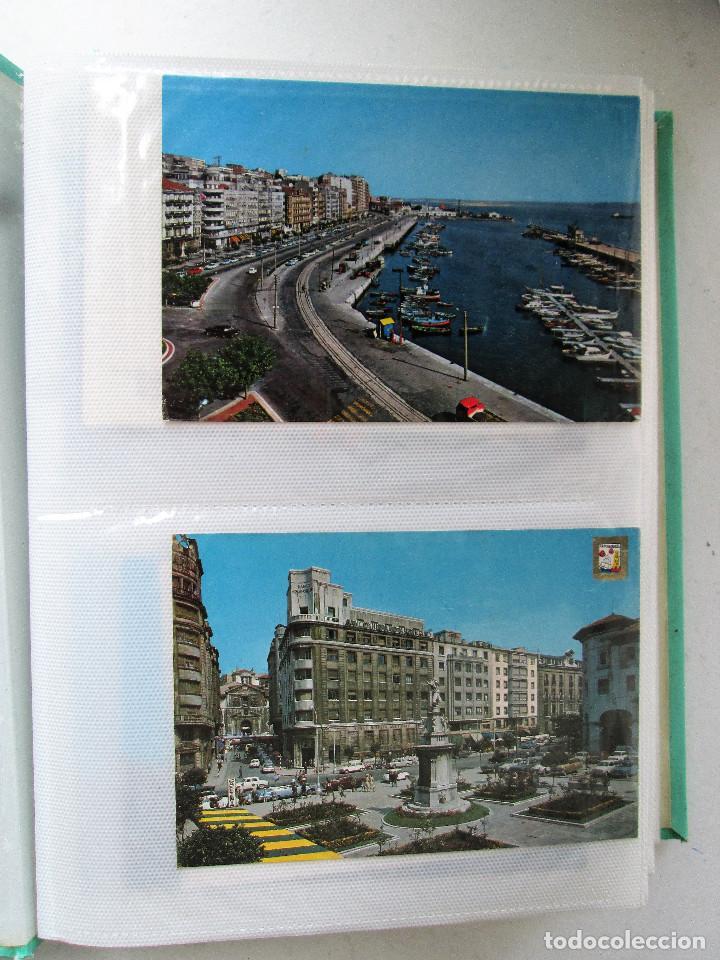 Postales: ALBUM DE POSTALES A COLOR DE LA SEGUNDA MITAD DEL XX DE LA CIUDAD DE SANTANDER - Foto 4 - 236148145