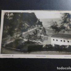 Postales: SANTANDER SUBIDA A PIQUIO. Lote 236198745