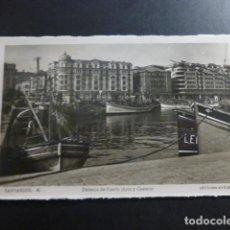 Postales: SANTANDER DARSENA DE PUERTO CHICO. Lote 236198910