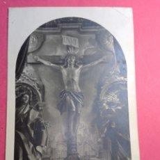 Postales: POSTAL CIRCULADA SANTO CRISTO DE LIMPIAS 1925. Lote 238876790