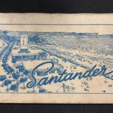 Postales: SANTANDER - LIBRITO 10 POSTALES - ED. ARRIBAS. Lote 240063440