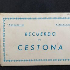 Postales: CESTONA - LIBRITO 10 POSTALES - ED. ARRIBAS. Lote 240436155