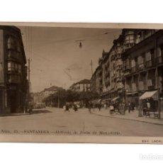 Postales: SANTANDER.(CANTABRIA).- ALAMEDA DE JESÚS DE MONASTERIO. POSTAL FOTOGRÁFICA.. Lote 240489195