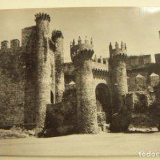 Postales: POSTAL DE PONFERRADA CASTILLO DE LOS TEMPLARIOS. - EDICIONES PARIS Nº 11 CIRCULADA. Lote 242303885