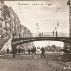 Postales: SANTANDER - PUENTE DE VARGAS J. PALACIOS SIN CIRCULAR. Lote 243018810