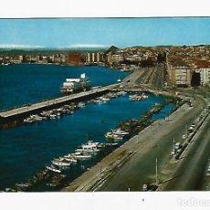 Postales: TARJETA POSTAL. SANTANDER, CANTABRIA. VISTA DEL PUERTO. AL FONDO LOS PICOS DE EUROPA. 81. FOTO ALSAR. Lote 243559990