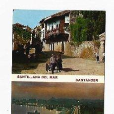 Postales: TARJETA POSTAL. SANTANDER - SANTILLANA DEL MAR. CANTABRIA. 299. FOTO ALSAR. Lote 243701560