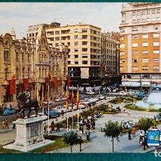 Postales: POSTAL SANTANDER (1970) AYUNTAMIENTO Y PLAZA DEL CAUDILLO. Lote 243896925